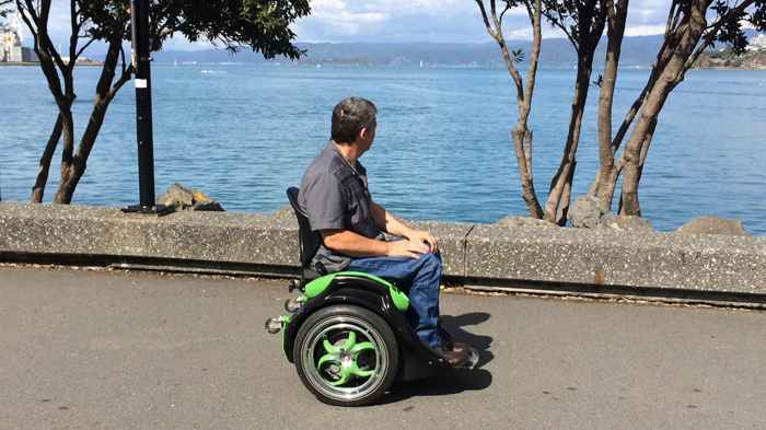Ogo is a hands-free wheelchair (Credit: Ogo).