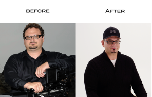 Mark Wood before and after photos.