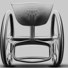 The exact placement of the GO wheelchair's seat is adjusted based on the body mapping data, ensuring that the center of gravity is correct